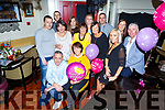 Josephine O'Sullivan from London and formally of St Johns Park, Tralee celebrating her birthday in the Brogue Inn on Saturday night.