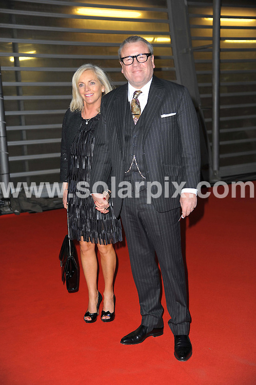 **ALL ROUND PICTURES FROM SOLARPIX.COM**                                             **WORLDWIDE SYNDICATION RIGHTS**                                                                                  Stars arrive at London's O2 Arena for the 2012 Brit Awards..This pic:  Ray Winstone and wife Elaine                                                                        .JOB REF:    14495   MSR     DATE:   22.02.12                                                         **MUST CREDIT SOLARPIX.COM OR DOUBLE FEE WILL BE CHARGED**                                                                      **MUST AGREE FEE BEFORE ONLINE USAGE**                               **CALL US ON: +34 952 811 768 or LOW RATE FROM UK 0844 617 7637**
