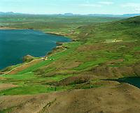 Arnstapi séð til austurs, Þingeyjarsveit áður  Ljósavatnshreppur / Arnstapi viewing east, Thingeyjarsveit former Ljosavatnshreppur