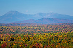 View of Mount Katahdin from Patten, Maine, USA