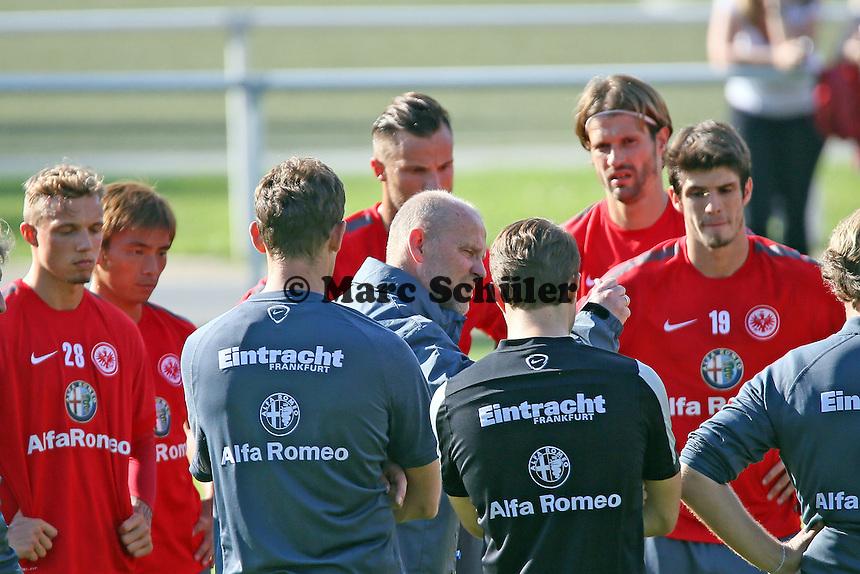 Ansprache Thomas Schaaf - Eintracht Frankfurt Training, Commerzbank Arena