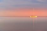 Morning glow on Nadi Bay, Fiji Islands