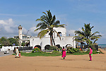 Pondicherry promenade by the sea. 2015