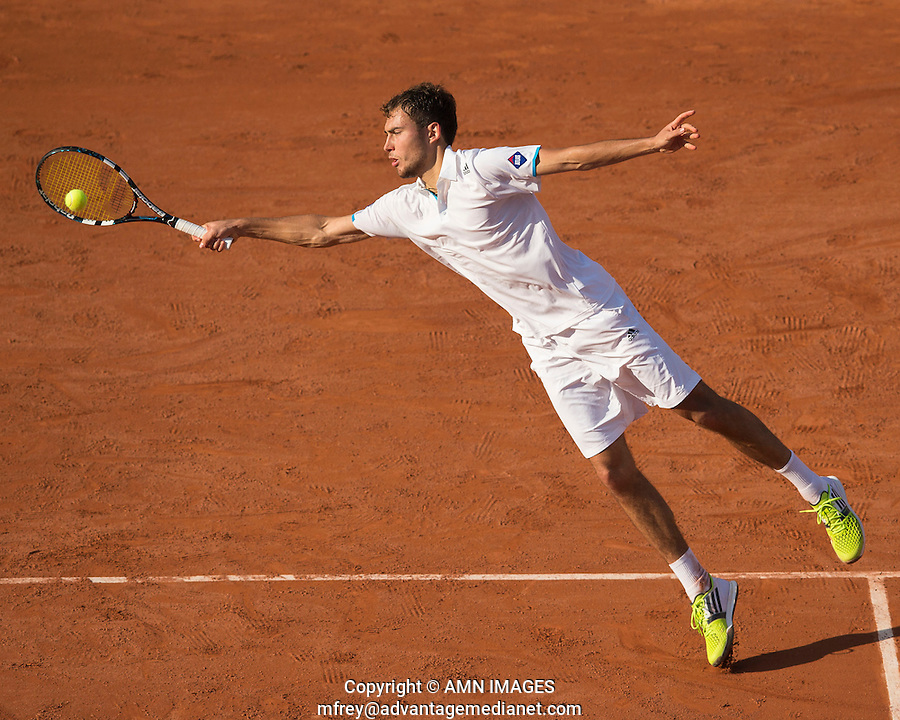 JERZY JANOWICZ (SRB)<br /> <br /> Tennis - French Open 2014 -  Toland Garros - Paris -  ATP-WTA - ITF - 2014  - France <br /> 30th June 2014. <br /> <br /> &copy; AMN IMAGES