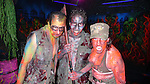 Cast members at the Media Preview and Party for 'Blood Manor' - New York City's Premier Haunted Attraction at 163 Varick Street in New York. Sept. 26, 2012