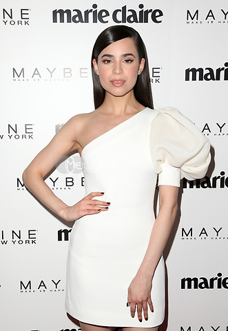 WEST HOLLYWOOD, CA - April 21: Sofia Carson, At Marie Claire's Fresh Faces At Doheny Room In California on April 21, 2017. Credit: FS/MediaPunch