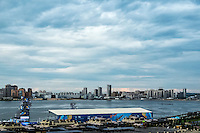 Kazan City Panoramic View - Panoramica <br /> Kazanka River <br /> Day0 23/07/2015<br /> XVI FINA World Championships Aquatics Swimming<br /> Kazan Tatarstan RUS <br /> Photo Andrea Staccioli/Deepbluemedia/Insidefoto