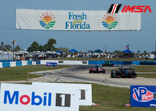 16-19 March, 2016, Sebring, Florida USA<br /> Sponsor signage <br /> &copy;2016, Richard Dole<br /> LAT Photo USA