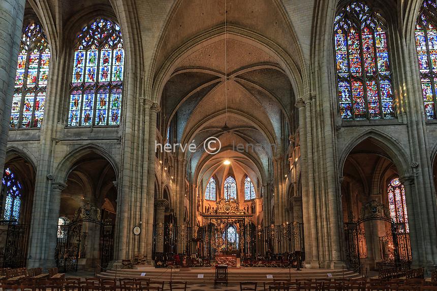 France, Yonne (89), Sens, cathédrale Saint-Etienne // France, Yonne, Sens, Saint Etienne Cathedral