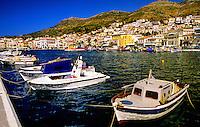 Samos town (a.k.a. Vathi), island of Samos, Greece