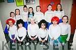 Cast members of Bryan Carr School of Performing Arts production of The Little Mermaid Jr The Musical at Siamsa Tire on Sunday Pictured Front l-r  Aoife Kelleher, Sophie Leen, Carla Stack, Velanka Murphy, Sophie Stack and Amy Heaphy. Back l-r  Aoife Hartnett, Grainne O'Shea, Amy Cronin, Keeley O'Shea, Amy McCarthy, Holly Macintee and Orla O'Connor.