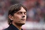 Nederland, Amsterdam, 25 maart 2012.Eredivisie.Seizoen 2011-2012.Ajax-PSV 2-0.Philip Cocu trainer-coach van PSV baalt
