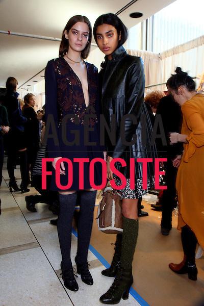 Nova Iorque, EUA &ndash; 02/2014 - Desfile de Tory Burch durante a Semana de moda de Nova Iorque - Inverno 2014. <br /> Foto: FOTOSITE