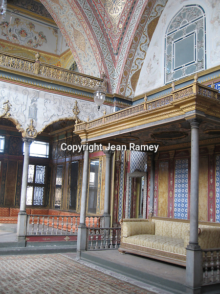 Harem at Topkapi Palace