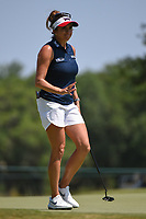Gerina Piller (USA) after sinking her birdie putt on 4 during round 1 of the 2019 US Women's Open, Charleston Country Club, Charleston, South Carolina,  USA. 5/30/2019.<br /> Picture: Golffile | Ken Murray<br /> <br /> All photo usage must carry mandatory copyright credit (© Golffile | Ken Murray)