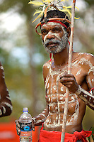 Yarrabah Dancer 1,  Laura Aboriginal Dance Festival, Laura, Cape York Peninsula, Queensland, Australia.