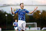 Hamilton Accies v St Johnstone...31.10.15  SPFL  New Douglas Park, Hamilton<br /> David Wotherspoon celebrates his goal<br /> Picture by Graeme Hart.<br /> Copyright Perthshire Picture Agency<br /> Tel: 01738 623350  Mobile: 07990 594431