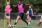 CARY, NC - APRIL 20: Rosana (BRA). The North Carolina Courage held a training session on April 20, 2017, at WakeMed Soccer Park Field 7 in Cary, NC.