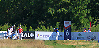 Ashun Wu (CHN) on the 6th tee during Round 1 of the HNA Open De France at Le Golf National in Saint-Quentin-En-Yvelines, Paris, France on Thursday 28th June 2018.<br /> Picture:  Thos Caffrey | Golffile