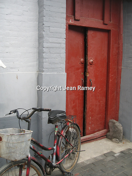 Red Door & Bike