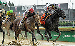 LOUISVILLE, KY - MAY 05: Limousine Liberal #7, ridden by Jose Ortiz wins the Churchill Downs on Kentucky Derby Day at Churchill Downs on May 5, 2018 in Louisville, Kentucky. (Photo by Jessica Morgan/Eclipse Sportswire/Getty Images)