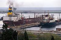 - Genoa, oils harbor of Multedo....- Genova, porto petroli di Multedo