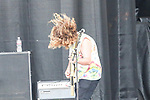 STEPHEN POPE of the American rock band Wavves performs during the summer X-Games at the Circuit of the Americas race track in Austin, Texas.