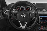 Car pictures of steering wheel view of a 2015 Opel CORSA Enjoy 5 Door Hatchback Steering Wheel