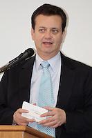 SÃO PAULO, 30 DE MAIO de 2012 - PROGRAMA TELECENTRO - O prefeito Gilberto Kassab<br /> participou na manhã de hoje da Solenidade de inauguração de 46 unidades de Programa Telecentro, o Programa de Inclusão digital que tem como objetivo possibilitar o cidadão especialmente o de baixa renda, o livre acesso às tecnologias de informação e comunicação através dos recursos tecnológicos das redes de computadores, na sede da prefeitura no Edificio Matarazzo no Centro de São Paulo, quarta-feira, 30 - FOTO LOLA OLIVEIRA - BRAZIL PHOTO PRESS