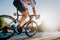 Lewis Askey (GBR)<br /> <br /> MEN JUNIOR ROAD RACE<br /> Kufstein to Innsbruck: 132.4 km<br /> <br /> UCI 2018 Road World Championships<br /> Innsbruck - Tirol / Austria