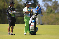 Kiradech Aphibarnrat (THA) in action on the 6th during the Matchplay rounds of the ISPS Handa World Super 6 Perth at Lake Karrinyup Country Club on the Sunday 11th February 2018.<br /> Picture:  Thos Caffrey / www.golffile.ie<br /> <br /> All photo usage must carry mandatory copyright credit (&copy; Golffile | Thos Caffrey)