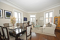 Living Room at 140 West 69th Street