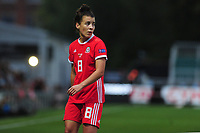 Angharad James of Wales during the UEFA Womens Euro Qualifier match between Wales and Northern Ireland at Rodney Parade in Newport, Wales, UK. Tuesday 03, September 2019
