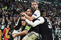 Paulo Dybala of Juventus celebrates with team mates after scoring the goal of 2-1 for his side<br /> Torino 22/10/2019 Juventus Stadium <br /> Football Champions League 2019//2020 <br /> Group Stage Group D <br /> Juventus - Lokomotiv Moscow  <br /> Photo Daniele Buffa / Image / Insidefoto