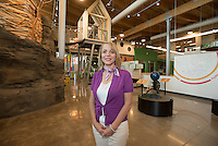 NWA Democrat-Gazette/J.T. WAMPLER - Shantell Owen is a founding board member of the Amazeum.
