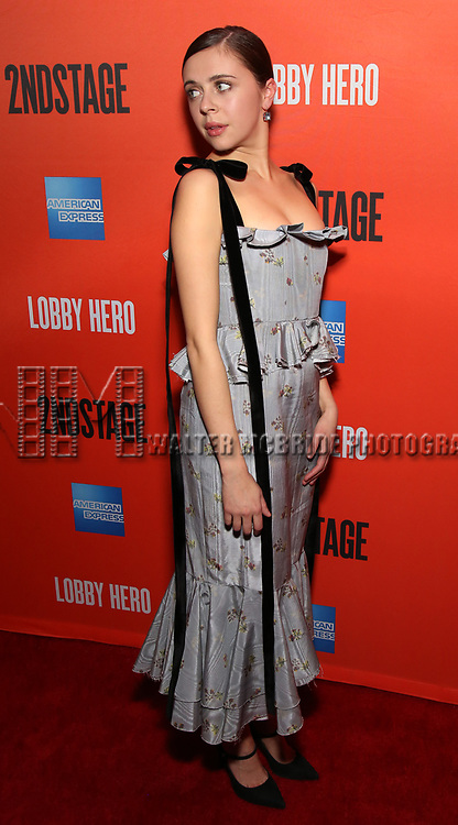 Bel Powley attends the the Broadway Opening Night Performance After Party for 'Lobby Hero' at Bryant Park Grill on March 26, 2018 in New York City.