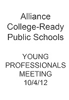 Alliance Young Professionals Meeting