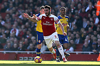 Sead Kolasinac of Arsenal during Arsenal vs Southampton, Premier League Football at the Emirates Stadium on 24th February 2019