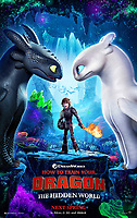 How to Train Your Dragon: The Hidden World (2019) <br /> POSTER ART<br /> *Filmstill - Editorial Use Only*<br /> CAP/MFS<br /> Image supplied by Capital Pictures
