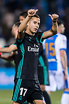 Lucas Vazquez of Real Madrid reacts during the Copa del Rey 2017-18 match between CD Leganes and Real Madrid at Estadio Municipal Butarque on 18 January 2018 in Leganes, Spain. Photo by Diego Gonzalez / Power Sport Images