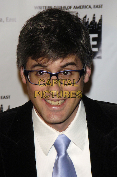 MO ROCCA.59th Annual Writers Guild Awards at the Hudson Theater, New York, New York ,USA..February 11th, 2007.headshot portrait glasses.CAP/ADM/BL.©Bill Lyons/AdMedia/Capital Pictures *** Local Caption ***