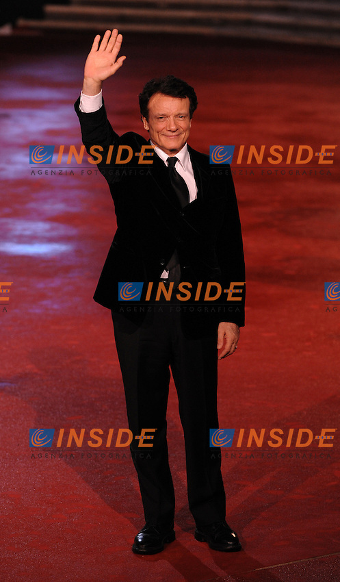 Massimo Ranieri<br /> Third edition of the Rome International film festival<br /> Roma 31/10/2008 <br /> Red Carpet Awards - Premiazione<br /> Photo Andrea Staccioli Insidefoto