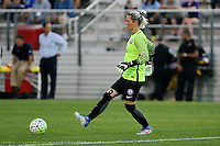 Piscataway, NJ - Wednesday Sept. 07, 2016: Ashlyn Harris during a regular season National Women's Soccer League (NWSL) match between Sky Blue FC and the Orlando Pride FC at Yurcak Field.