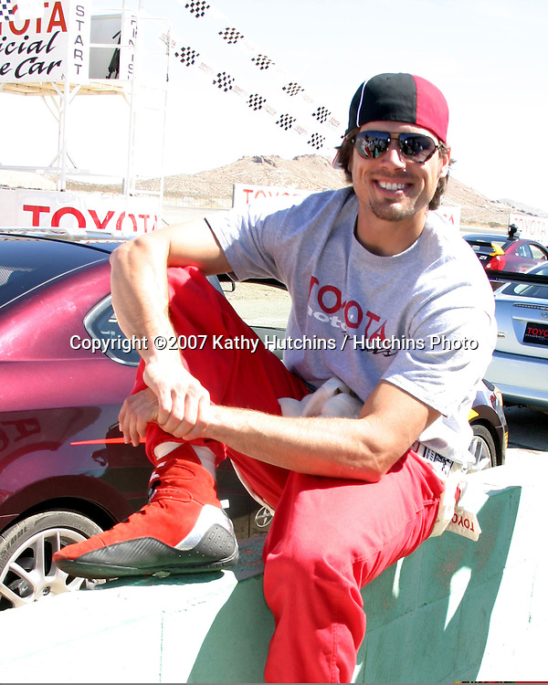 Joshua Morrow.2007 Toyota Pro/Celebrity Race Training.Danny McKeever's Fast Lane Racing School.Willow Springs Race Track.Willow Springs, CA  .march 17, 2007.©2007 Kathy Hutchins / Hutchins Photo....