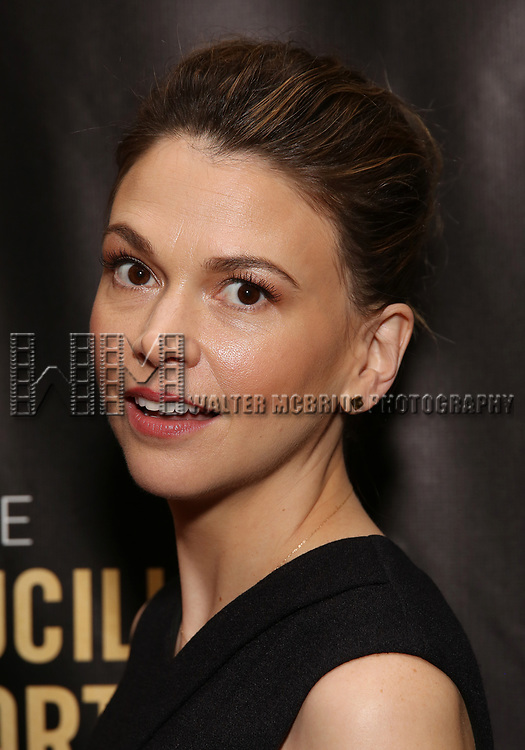Sutton Foster attends 32nd Annual Lucille Lortel Awards at NYU Skirball Center on May 7, 2017 in New York City.