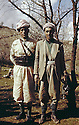 Iraq 1963 .Left, Isse Swar ,chief of peshmergas.Iraq 1963.A gauche Isse Swar, un chef de peshmergas