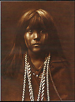 BNPS.co.uk (01202 558833)<br /> Pic: Bloomsbury/BNPS<br /> <br /> Mosa from the Mohave tribe in 1903.<br /> <br /> Lost souls - Poignant archive reveals the lost tribes of North America in beautiful photographs from just over a century ago.<br /> <br /> A remarkable collection of photographs which give an unprecedented insight into the lives of Native Americans at a time when their land was being taken from them have emerged at auction.<br /> <br /> Between 1907 and 1930, US photographer Edward Curtis spent time with more than 80 native tribes across Native America, taking thousands of photographs as part of his groundbreaking The North American Indian project.<br /> <br /> A collection of more than 500 rare Curtis photographs are being auctioned off later this month and are expected to fetch over &pound;300,000.