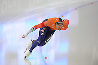 SPEEDSKATING: BERLIN: Sportforum Berlin, 27-01-2017, ISU World Cup, 1500m Men A Division, winner Kjeld Nuis (NED), ©photo Martin de Jong