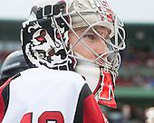Bryan Mountain (NU - 46) - The Northeastern University Huskies defeated the University of Massachusetts Lowell River Hawks 4-1 (EN) on Saturday, January 11, 2014, at Fenway Park in Boston, Massachusetts.