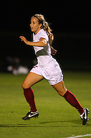 14 September 2007: Stanford Cardinal Allison McCann during Stanford's 3-2 win in the Stanford Invitational against the Missouri Tigers at Maloney Field in Stanford, CA.